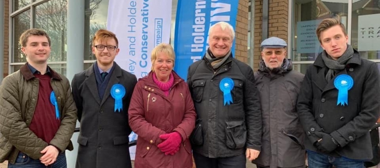 Graham Stuart MP and the Conservative Team in Withernsea